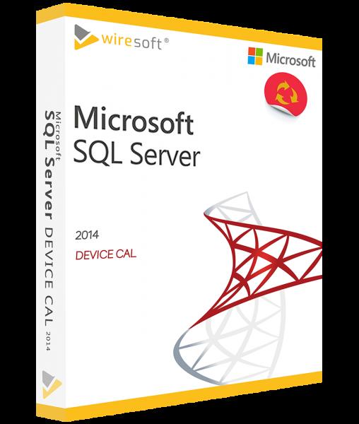 MICROSOFT SQL SERVER 2014 DEVICE CAL