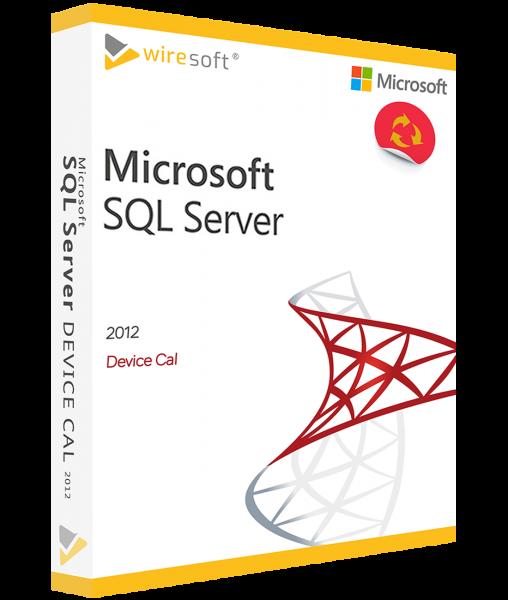 MICROSOFT SQL SERVER 2012 DEVICE CAL
