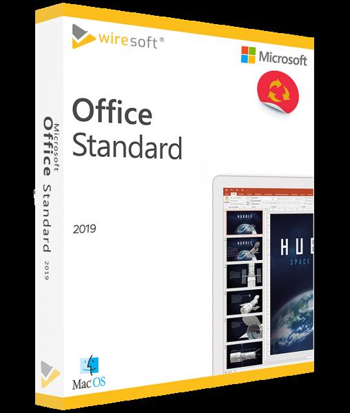 MICROSOFT OFFICE MAC 2019 STANDARD