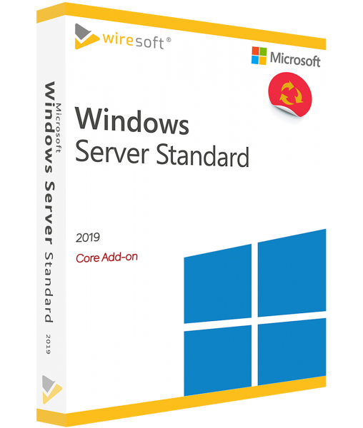 MICROSOFT WINDOWS SERVER 2019 STANDARD 2-CORE