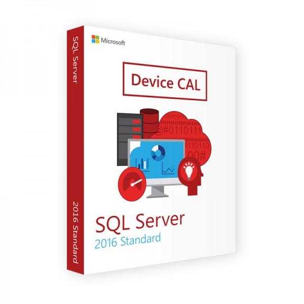 MICROSOFT SQL SERVER 2016 DEVICE CAL