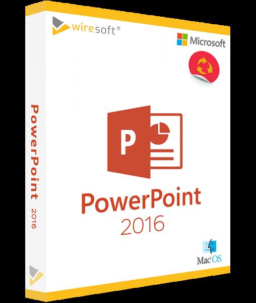 MICROSOFT POWERPOINT MAC 2016