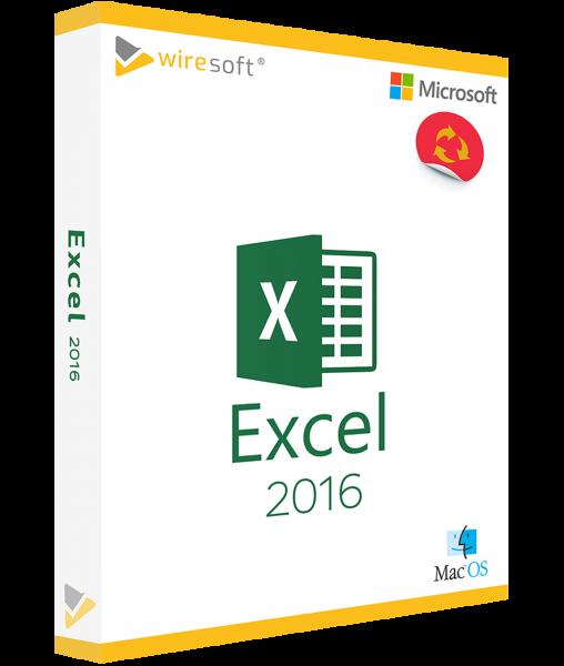 MICROSOFT EXCEL MAC 2016